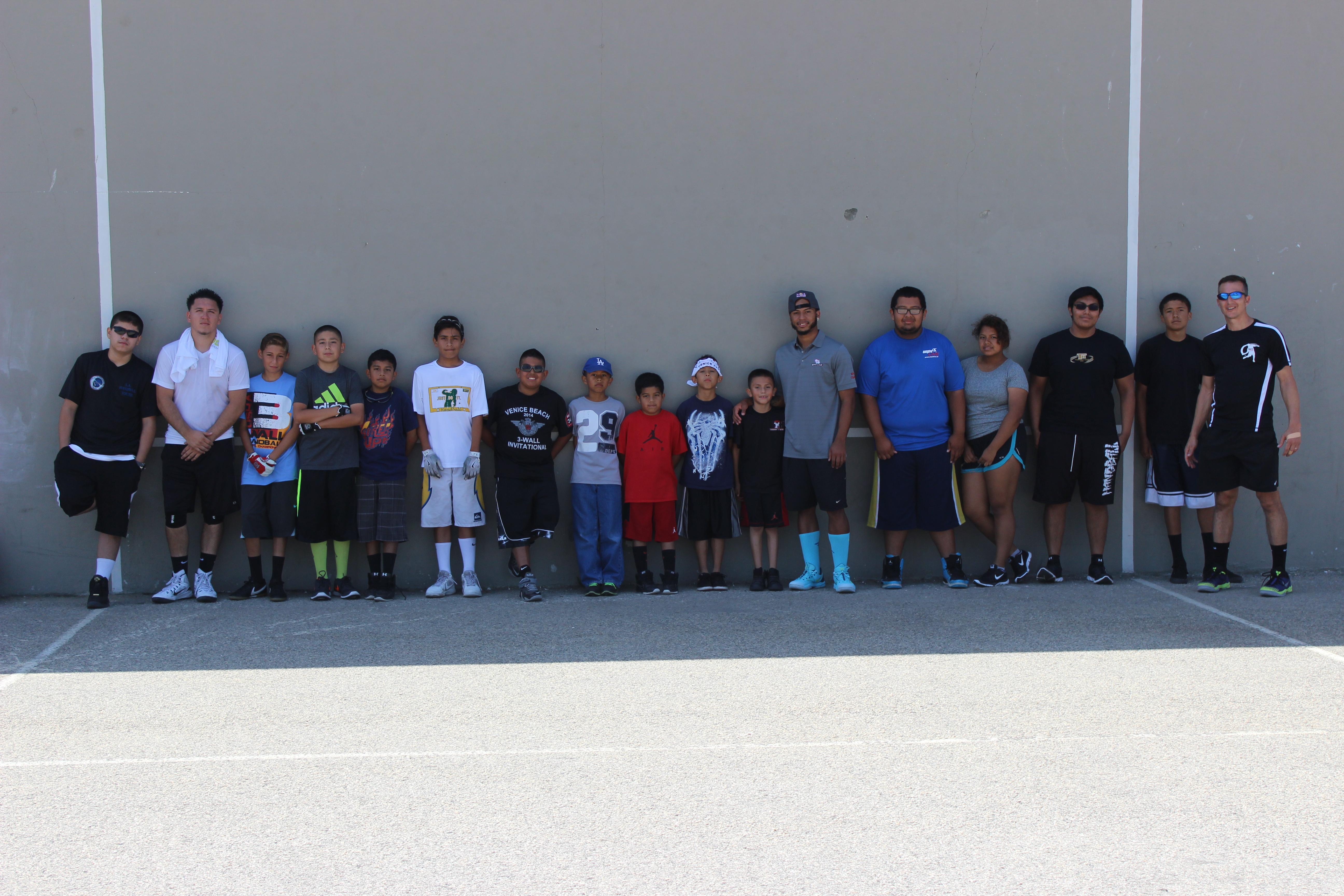 The Venice Mega Junior Handball Clinic and Junior 1-Wall ...
